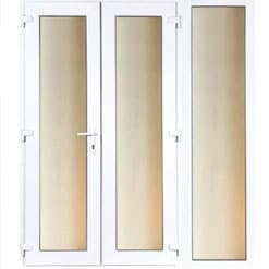 PVCu French Doors and Sidelites