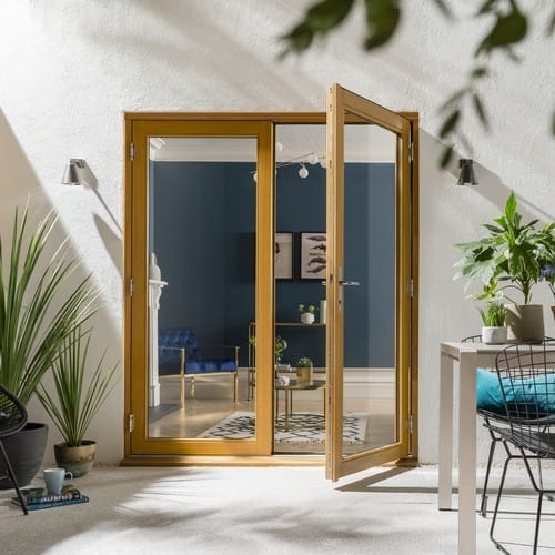 JELD-WEN Hardwood French Doors